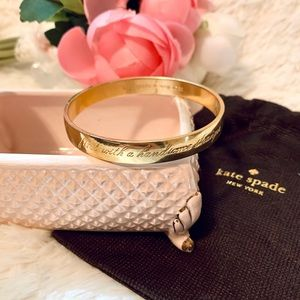 Kate Spade this is the year to idiom bracelet